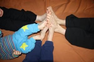 Koko perhe koossa